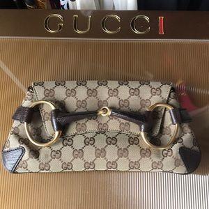 Price Drop Firm ⬇️ Authentic Gucci Horsebit Clutch